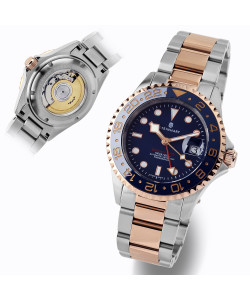 Ocean One GMT two-tone BLUE