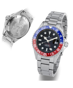 Ocean One GMT BLUE-RED Ceramic