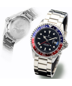 Ocean One GMT BLUE-RED