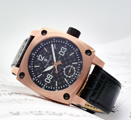 AVIATION Pink Gold / Carbon