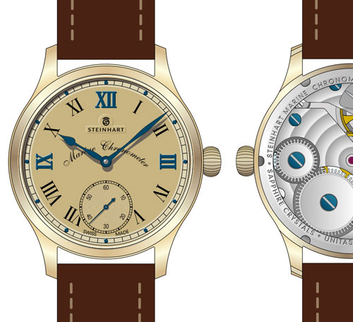Marine Chronometer Bronze Edition
