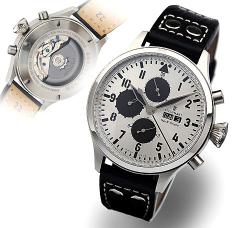 Nav.B- Chrono Limited Silver Edition